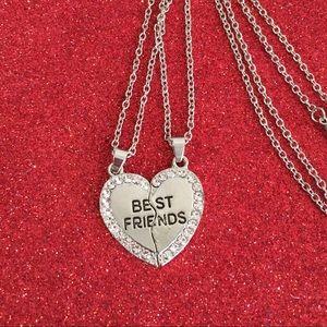 ♡♡3/$15 Best Friends Forever Pendant Necklace